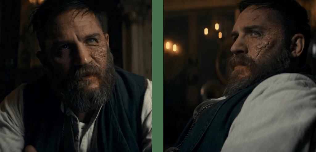 Tom Hardy as Alfie Solomon in Peaky Blinders