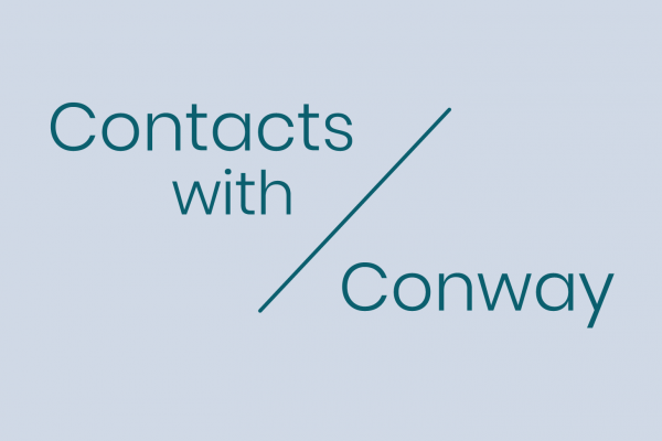 Contacts with Conway