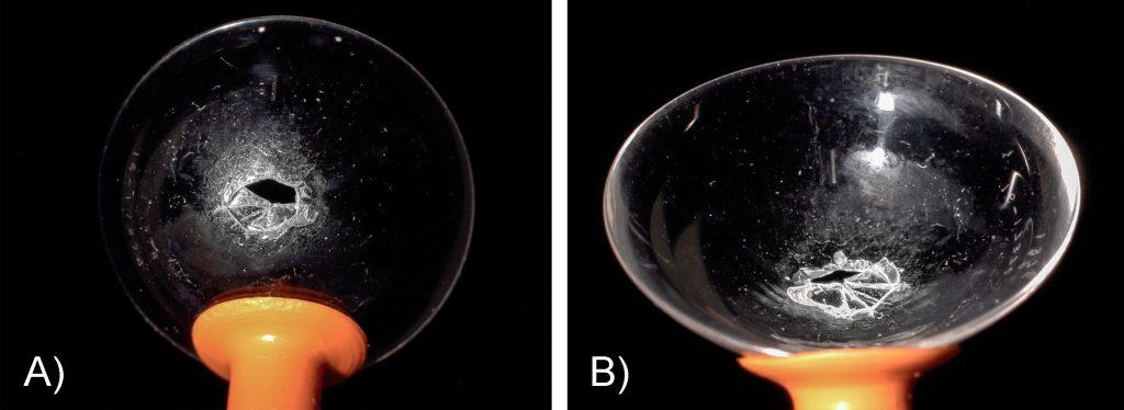 Broken Scleral Lens